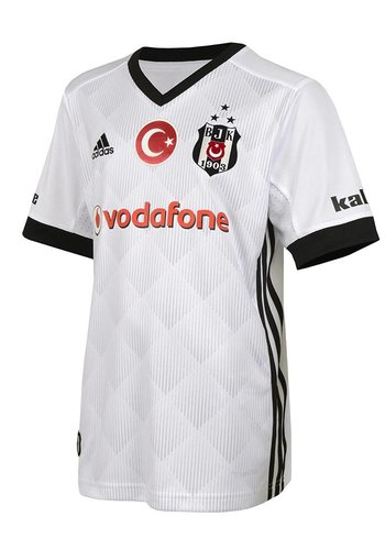 Beşiktaş Adidas kids football shirt 17-18 white
