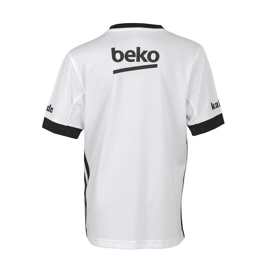 Beşiktaş Adidas kids football shirt 17-18 white