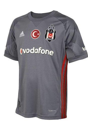 Beşiktaş Adidas kindervoetbalshirt 17-18 grijs