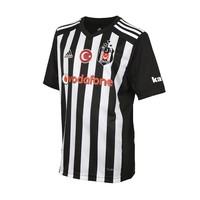 Beşiktaş Adidas Kindertrikot 17-18 gestreift