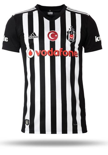 BJK ADIDAS MAILLOT À  RAYURES VERTICALES 17-18