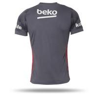 Beşiktaş Adidas football shirt 17-18 grey
