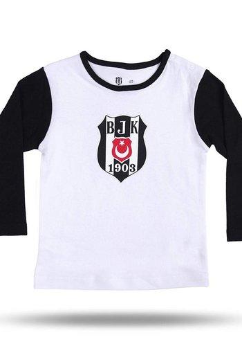 BJK BABY T-SHIRT 03 BLACK-WHITE
