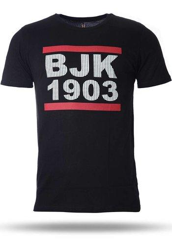 7718103 BJK T-SHIRT HEREN ZWART