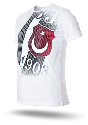K7718109 BJK T-SHIRT HEREN WIT