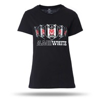 8718121 BJK WOMENS T-SHIRT BLACK