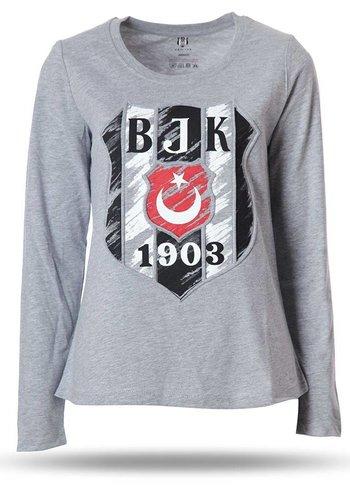 K8718108 BJK T-SHIRT DAMEN GRAU