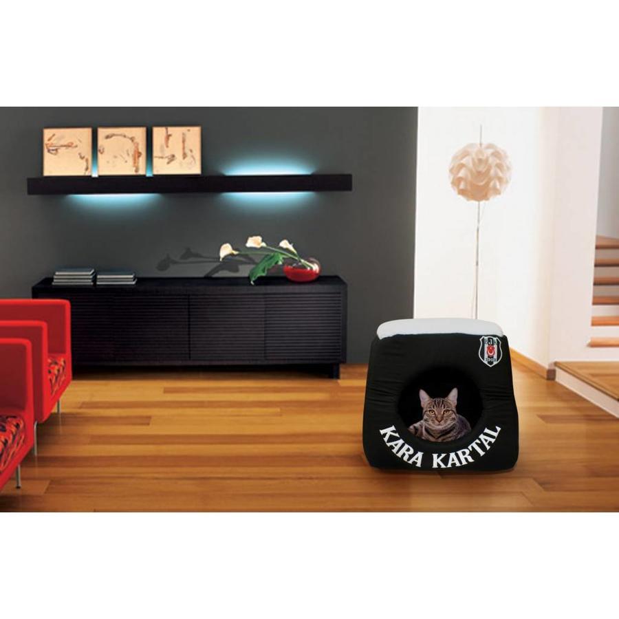 BJK Bett mit 3 Funktionen schwarz