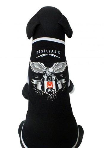 BJK Baumwoll Haustier T-Shirt schwarz