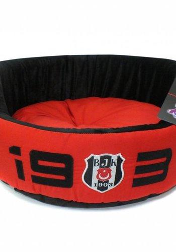 BJK Indoor Bett groß rot