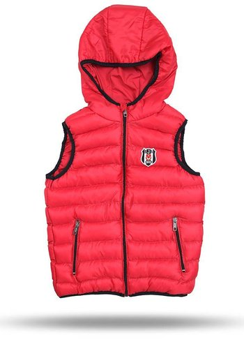 Beşiktaş Hooded waiscoat kids red 6718608