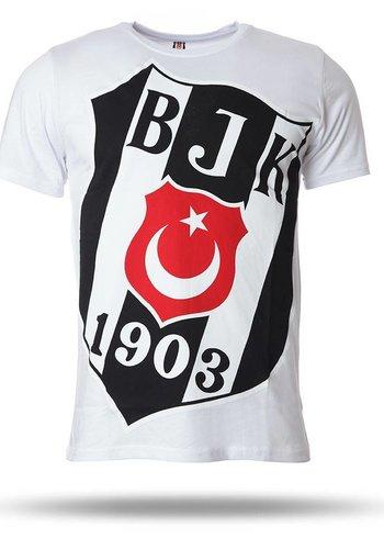 Beşiktaş T-shirt korte mouwen heren wit 7718110