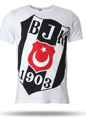 Beşiktaş T-shirt short sleeves men white 7718110