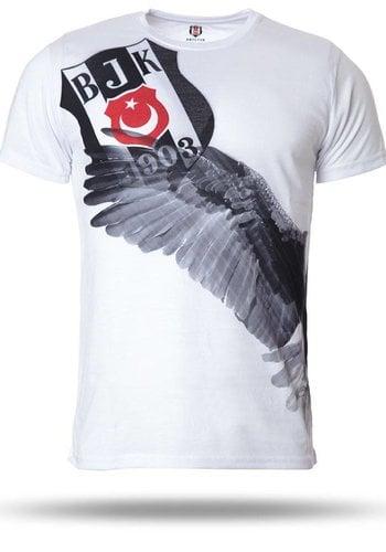 Beşiktaş T-Shirt Herren weiβ 7718115