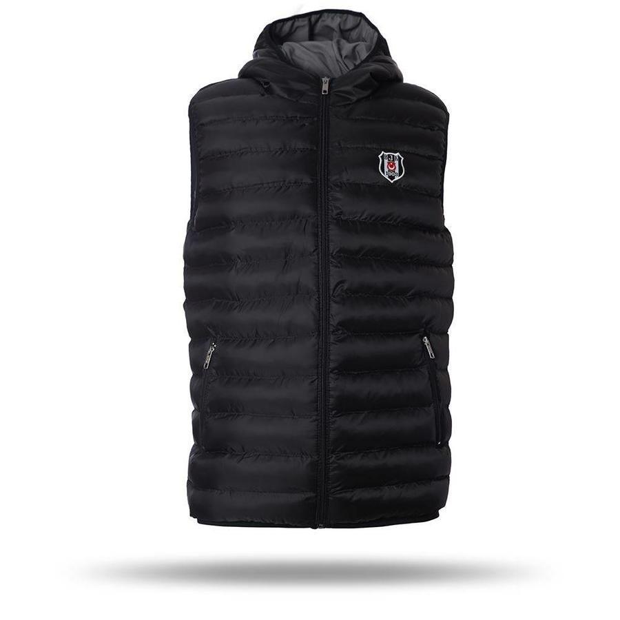Beşiktaş Hooded bodywarmer heren zwart 7718608