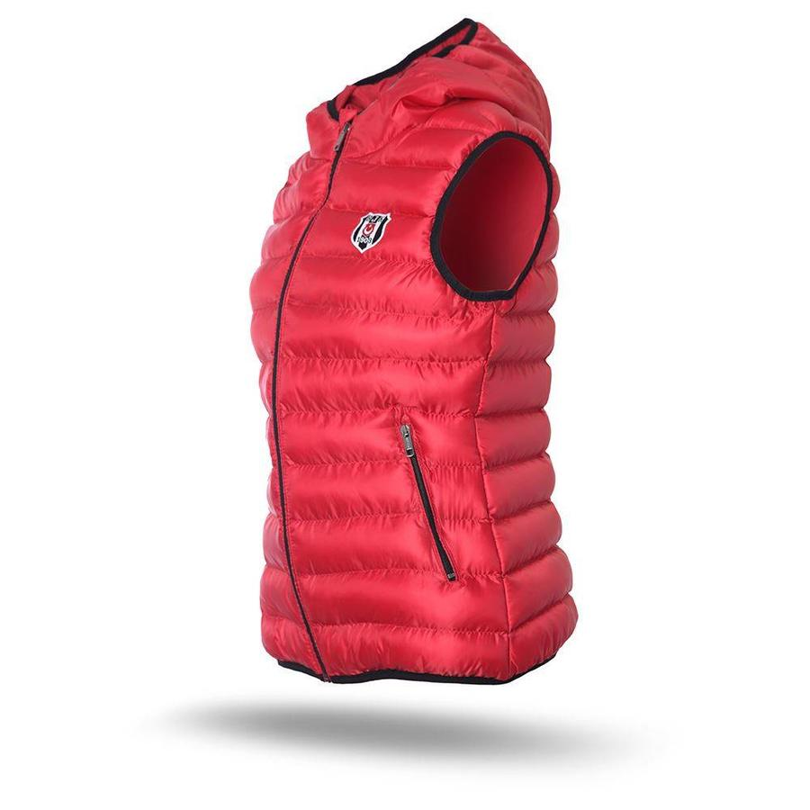 Beşiktaş Hooded bodywarmer dames rood 8718608