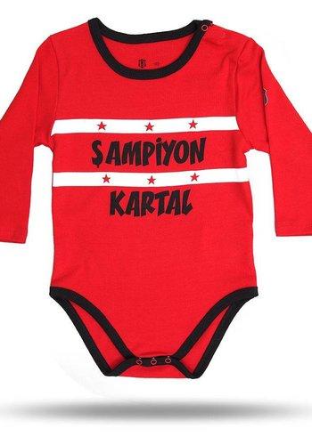 Beşiktaş Baby body 01 rot