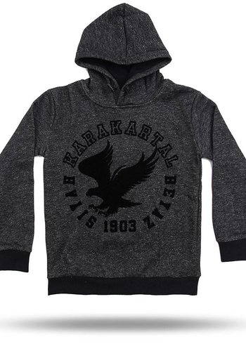 6718267 BJK HOODED SWEATER KINDEREN