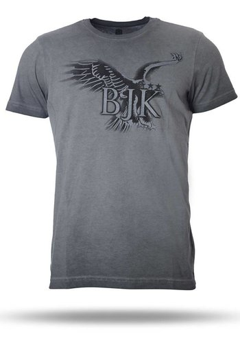 K7718125 BJK MENS T-SHIRT GREY