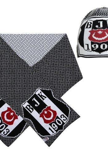 Beşiktaş Set Schal Mütze 01