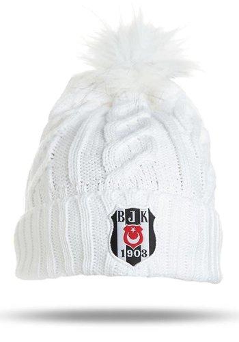 Beşiktaş bonnet 09 blanc