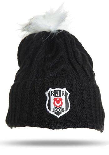 Beşiktaş bonnet 09 noir