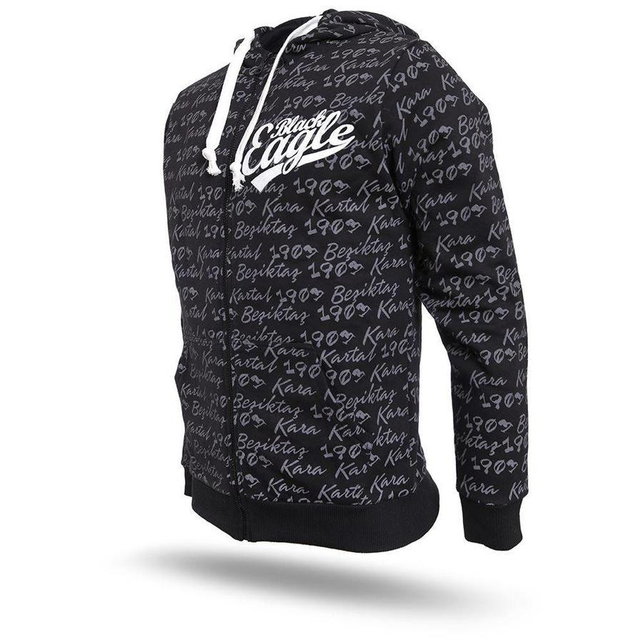 Beşiktaş Hooded Sweater Heren 7718274 zwart