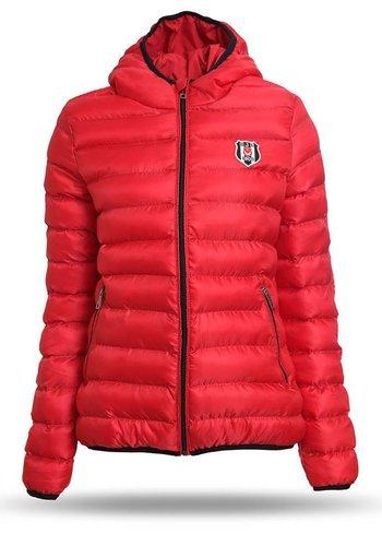 Beşiktaş Womens Jacket 8718606 Red