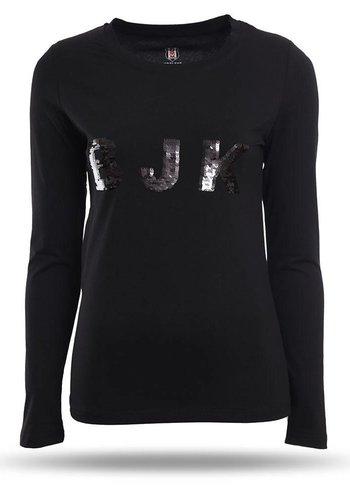 Beşiktaş T-shirt Damen 8718123 Schwarz