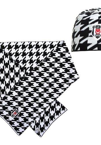 Beşiktaş Set sjaal muts 03