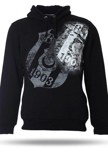 Beşiktaş Mens Hooded Sweater K7718291 Black