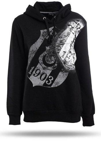 Beşiktaş Womens Hooded Sweater K8718291 Black
