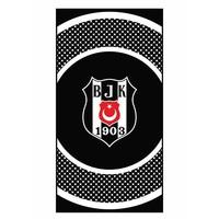 Beşiktaş Strandhandtuch Zirkel Logo