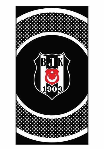 Beşiktaş Strandhanddoek Cirkellogo