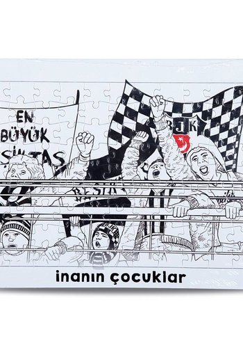 Beşiktaş ES40 Puzzel 20*27 99 st. İNANIN ÇOCUKLAR