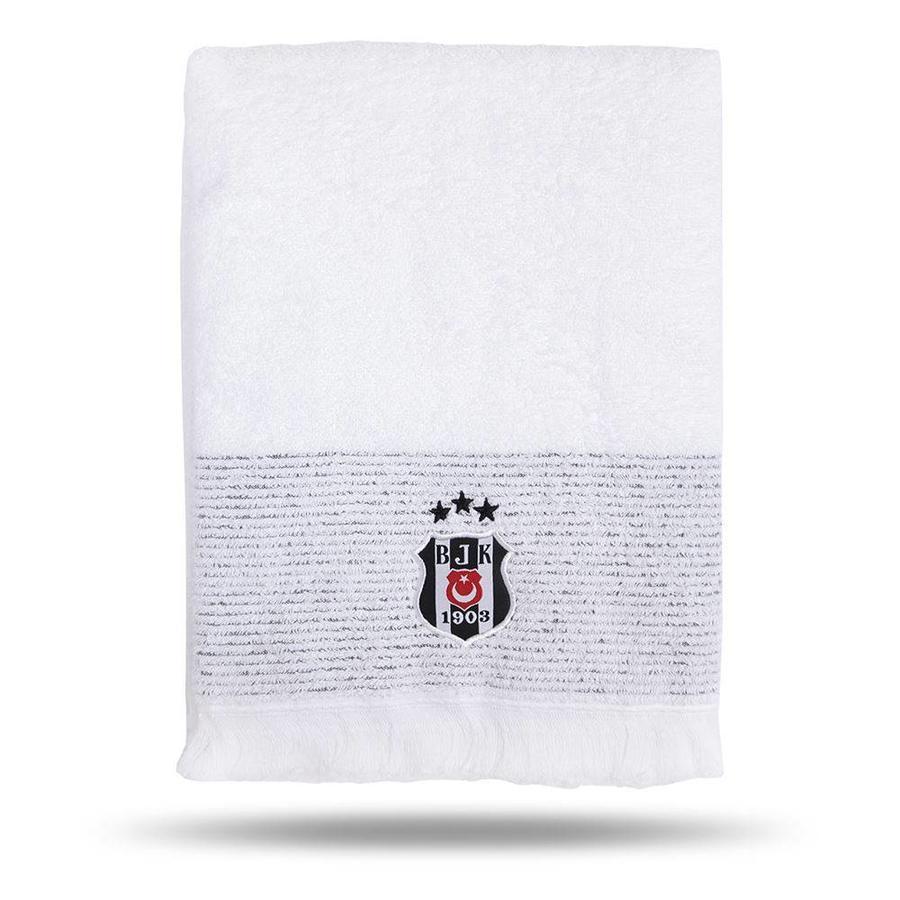 Beşiktaş Badetuch Weiβ