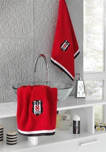 7828 - BJK 70X140 TOWEL RED