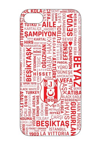 BJK IPHONE 7 / IPHONE 8 HİSSET RED