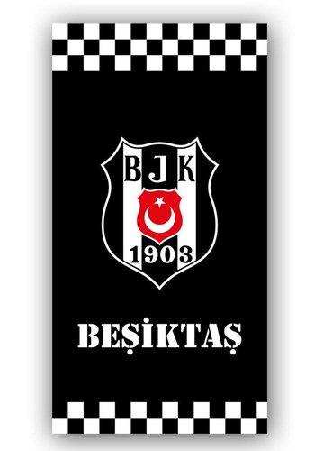 Beşiktaş Beach Towel Classic checked