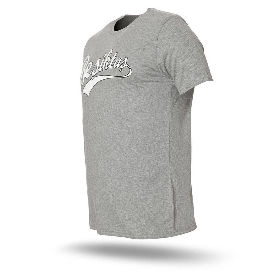 Beşiktaş College T-Shirt Herren 7718101 Grau