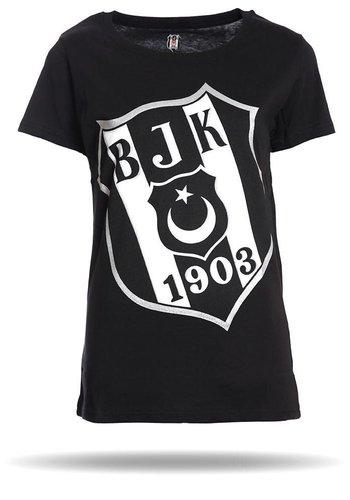 Beşiktaş Diagonaal Logo T-Shirt Dames 8818105