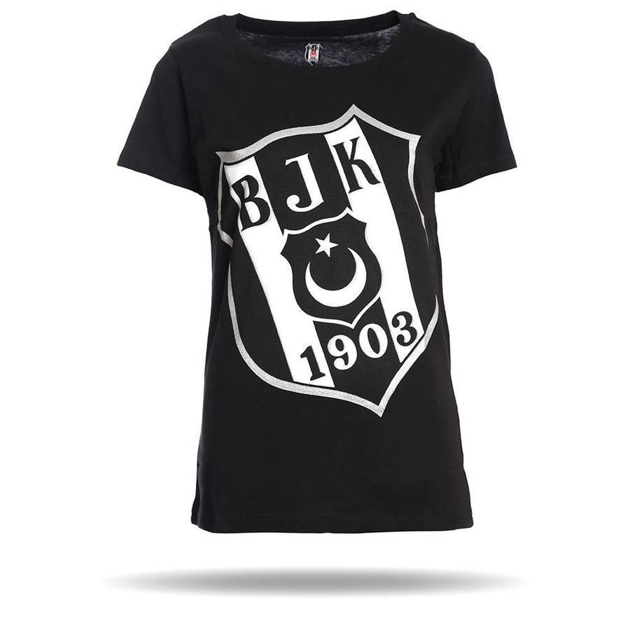 Beşiktaş Diagonale Logo T-Shirt Damen 8818105