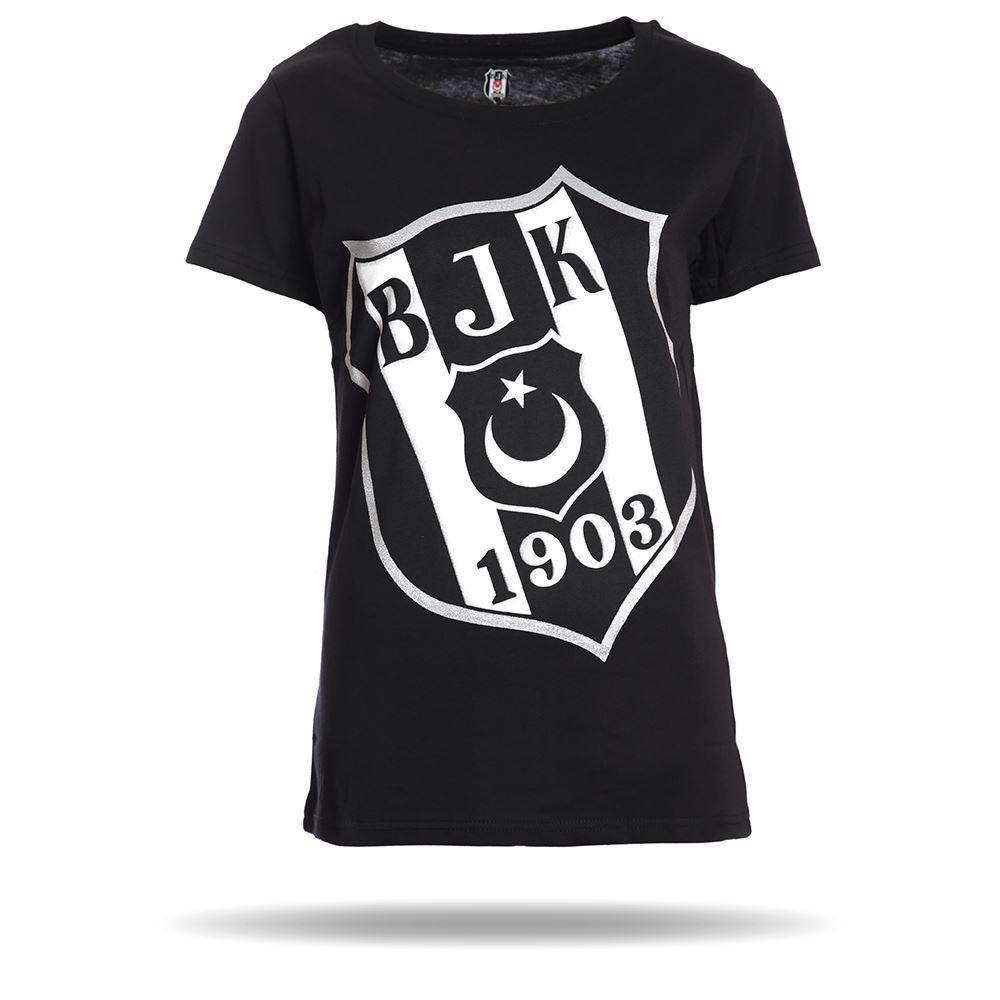 Beşiktaş Womens Diagonal Logo T Shirt 8818105