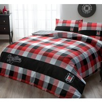 BEŞİKTAŞ bed clothes set 2 persons ekose