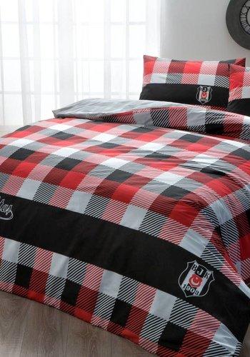 BEŞİKTAŞ bed clothes set 2 persons ekose