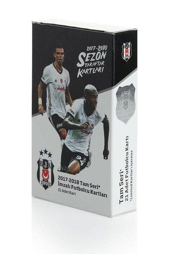 Beşiktaş Seizoen 2017-18 Fankaarten Pakket van 21 - volledige serie