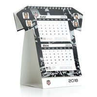 Beşiktaş 2018 Trikot geschnitten Tischkalender