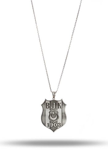 Beşiktaş Large logo necklace