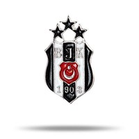Beşiktaş 3 stars logo pin