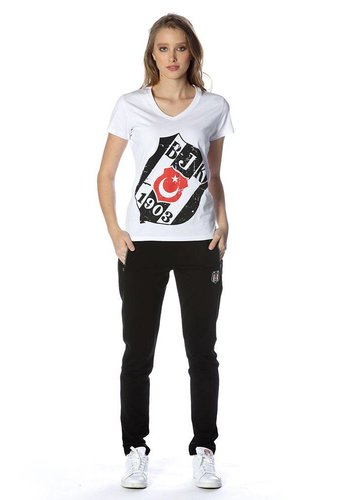 Beşiktaş womens classic training pants 8818400 Black